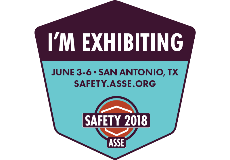 I Am Exhibiting at Safety 2018