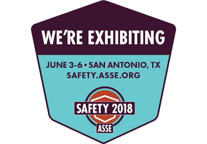 We Are Exhibiting at Safety 2018